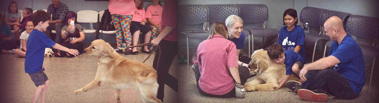 El perro que consiguió que un niño autista diera su primer abrazo