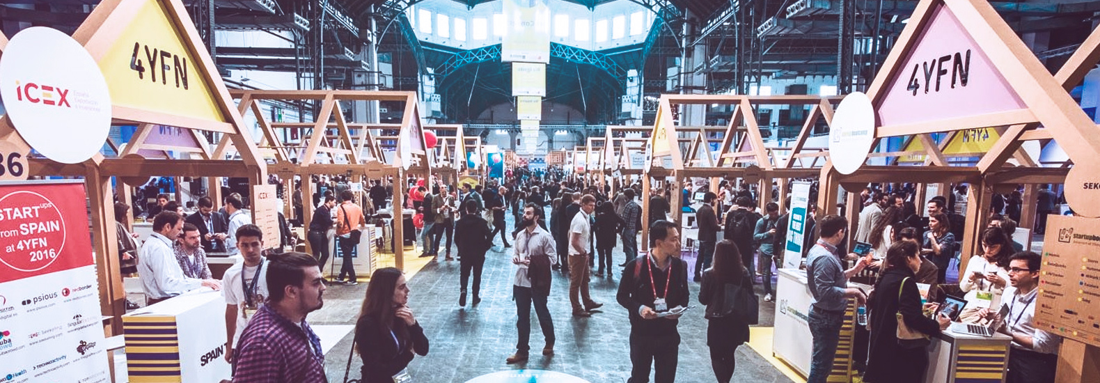 We were in the 4YFN 2018 in Barcelona