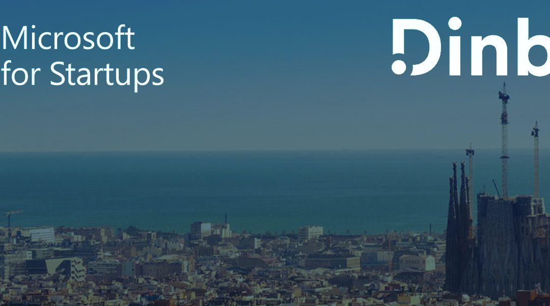 Dinbeat seleccionada para formar parte de Microsoft for Startups